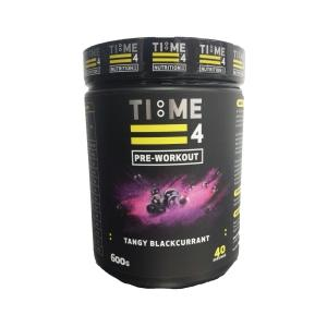 TIME 4 Pre-Workout 600g - 40 Servings