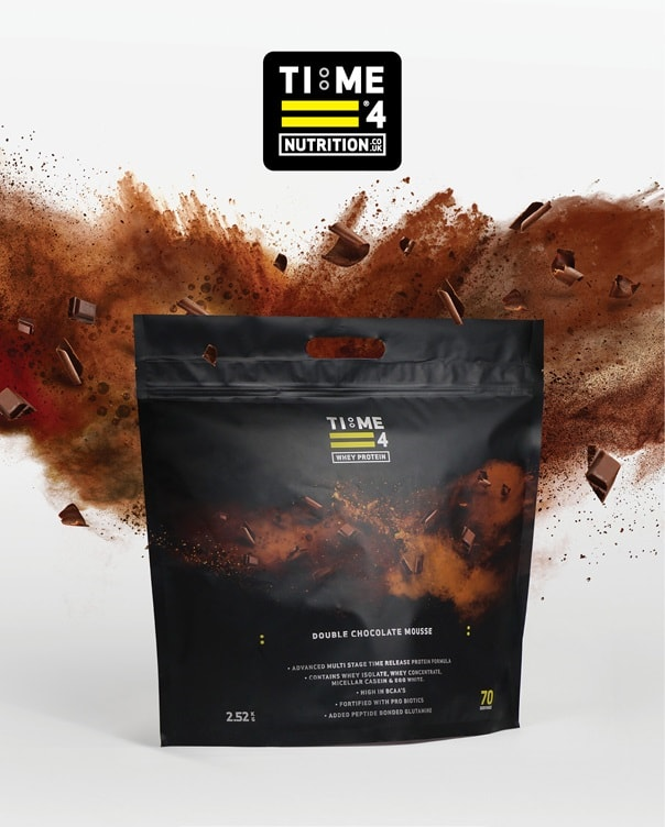 Time 4 Whey Protein 2.52kg 70 Servings - Advanced Time Release Protein Formula