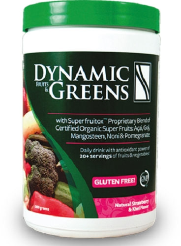 Dynamic Fruits and Greens - Gluten-Free -300g