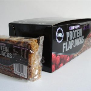 Vyomax High Protein Flapjacks 12 x 115g Chocolate Chip