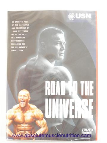 Road to the Universe Dave Titterton Mr Universe - DVD