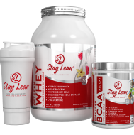Stay Lean Whey, BCAA & Shaker