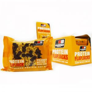Vyomax Nutrition Protein Flapjacks Peanut Butter & Choc Chip