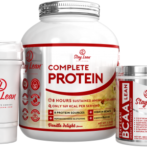 Stay Lean Complete Protein, BCAA & Shaker