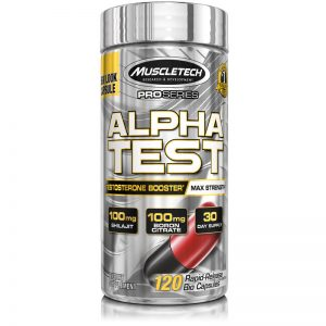 MuscleTech Pro Series Alpha Test 120 Capsules