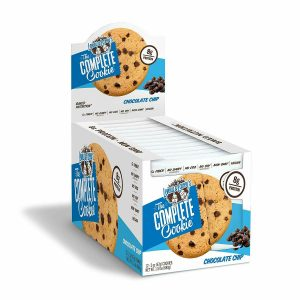 Lenny & Larry's The Complete Cookie Chocolate Chip – 12 Cookies (BBE: 04/04/19)