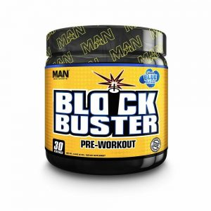 Man Sports Block Buster Pre-Workout – 410g