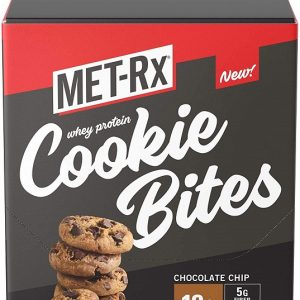 MET-Rx Whey Protein Cookie Bites 8 x 54g Bags