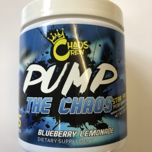 Chaos Crew Extreme Pump The Chaos Blueberry Lemonade 25 Servings