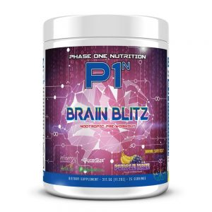 Phase One Nutrition Brain Blitz Nootropic Pre Workout 317g
